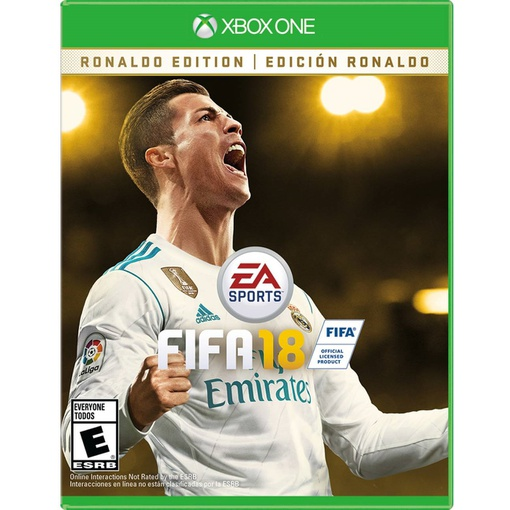 ea sports fifa 18 ronaldo edition xbox one vip outlet