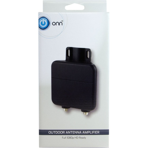 Onn ONA17CH003 outdoor antenna amplifier - Black