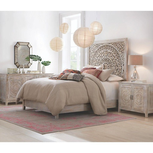Decorators Collection Outlet: Home Decorators Collection Chennai White Wash King