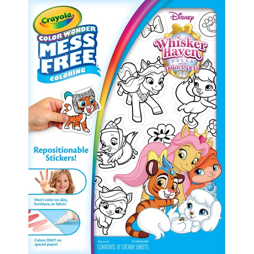 Crayola 75-2459 Color Wonder Mess Free Stickers, Whisker ...