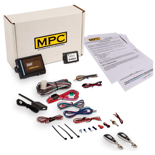 MPC B-0777-103-3 1-Button Remote Start/Keyless Entry Kit
