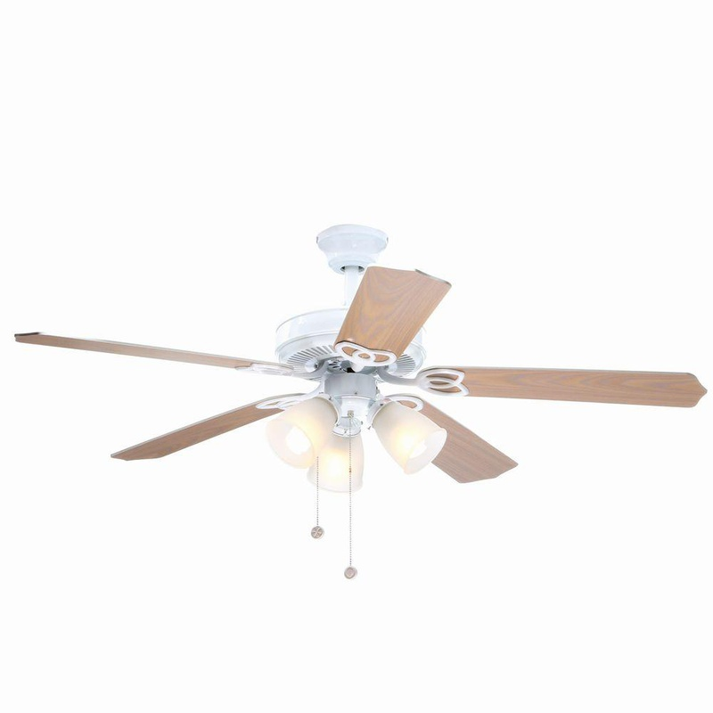 Air Cool Yg268 Wh Brookhurst 52 In Indoor White Ceiling Fan Vip Outlet