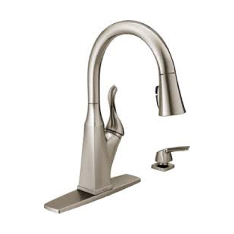 Delta Everly 19741z Spsd Dst Pull Down Kitchen Faucet Vip Outlet